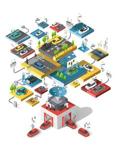IBM ad illustration by Jing Zhang #illustration #iso