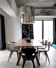 Apartment in Taipei by Ganna Design - interior design, interior, #decor, home decor, home #design, #interiordesign #diningroom
