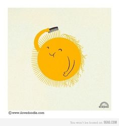 9GAG - Just for Fun! #illustration #fun #sun