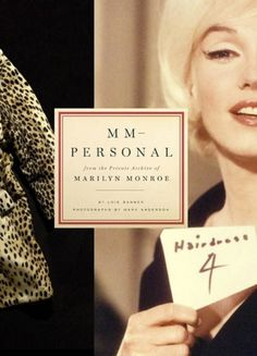 design:related gallery - MM—Personal: from the Private Archives of Marilyn... #book cover