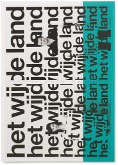 DTC / Het Wijde Land - Experimental Jetset #wijde #land #experimental #photography #jetset #dtchet #typography