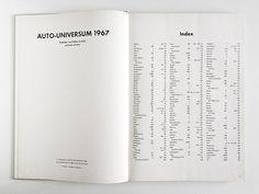 Auto-Universum / A Good Book