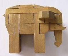 A PLATFORM JOURNAL #wood #toy #elephant
