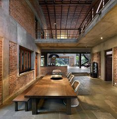 Indian Brick House with an Architectural Design Influenced by a Mango Trees Plantation 6
