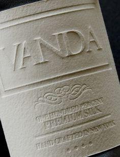 Vanda - damienbertels.com #vanda #ties #letterpress #silk