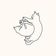 Sleeping cats series - #2