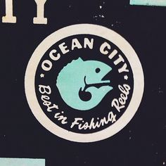 Ocean City Seal #seal #fish #badge