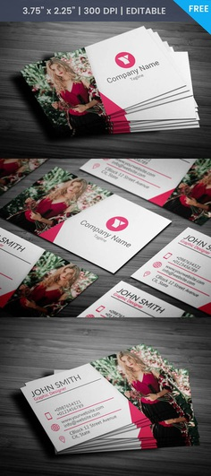 Free Professional Photographer Business Card Template