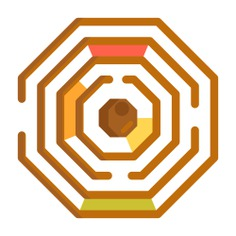 See more icon inspiration related to problem, maze, labyrinth, conundrum, architecture and city, solution, gaming, puzzle, entertainment, way, education and road on Flaticon.