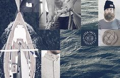 Cape Horn yacht services on the Behance Network #sea #russian #branding
