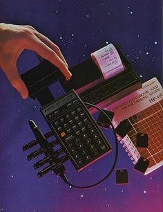 Flickriver: Photoset 'Omni Magazine' by Eric Carl #old #school #sci #space #fi #calculator #science