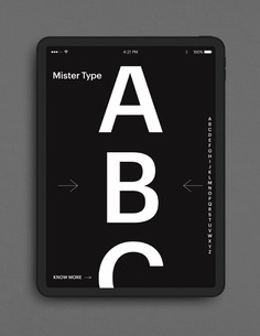 MRTYPE website ipad01