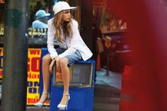 Patrick Demarchelier for DKNY Campaign #fashion #model #photography #girl