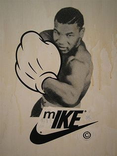 FFFFOUND! #tyson #mike #nike #brand #identity #fun