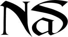 Nas #logo #typography #logotype #custom