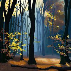 Mary Blair Landscape