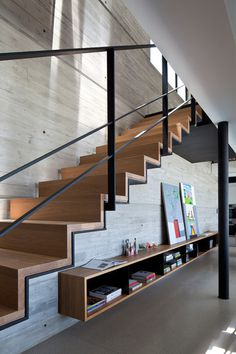 Pitsou Kedem uses raw materials to renovate Y Duplex Penthouse #architecture #stairs