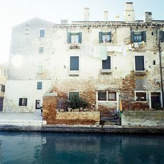 That Kind Of Woman #venice #photography #windows #water #canal #urban