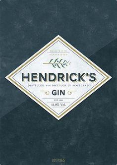 blog « matmacquarrie.ca #beer #hannes #gin #minimal #poster #hendricks #blue #green