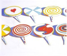 wayne-thiebaud-big-suckers.jpg (432×366) #painting #pop
