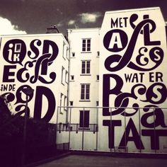 type novel #mural #wall #art #street #typography