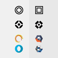 Change, progress, evolution, logo, circle, square, box, shape
