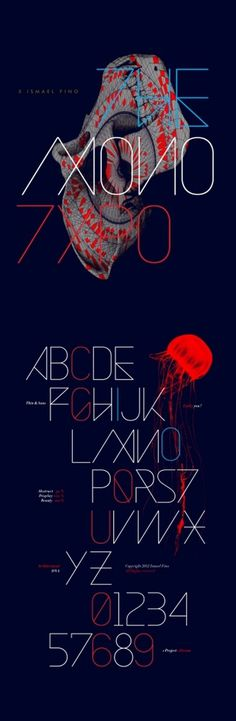 MONOTYPO on the Behance Network #poster #typography