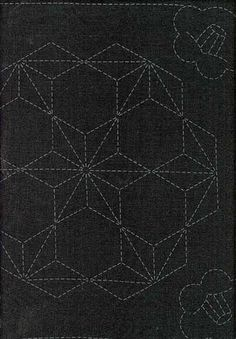 http://www.shiboridragon.com/Sashiko/Samplers/981.jpg #sashiko #fabric pattern