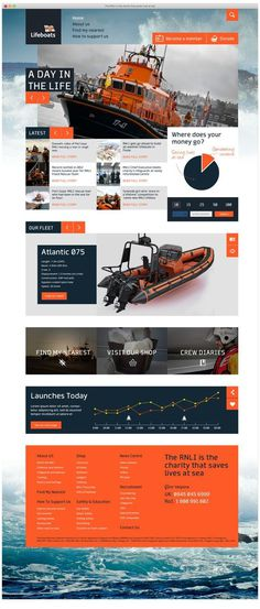 Lifeboats #website #digital #web