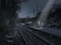 Cinematic and Atmospheric Street Photography by Geert De Taeye