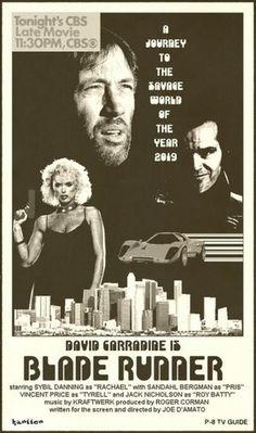 BladeRunner-alternate-universe-poster.jpg (JPEG Image, 600x1013 pixels) #runner #blade