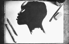 "Diaspora ""The Art of Blackness"" 2014 Exhibition on Behance #illustration #design #branding #typography"