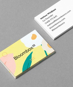 Bloombox Branding - Mindsparkle Mag Roser Padrés designed the branding for Bloombox – an online native organic flower delivery service located in Sydney and Melbourne. #logo #packaging #identity #branding #design #color #photography #graphic #design #gallery #blog #project #mindsparkle #mag #beautiful #portfolio #designer