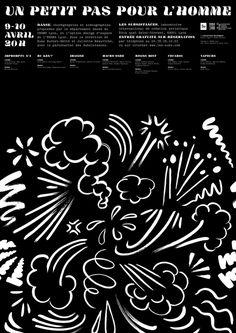 Un petit pas pour l'Homme Affiche et Programme - Fabien Coupas #poster