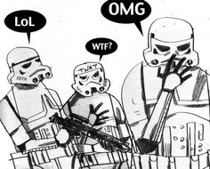Stormtroopers | Flickr - Photo Sharing! #humour #troopers #flickr #wars #illustration #storm #star #wjc #drawing
