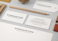 Stadsauktion by BrittonBritton | The Design Ark #stadsauktion #stationary #by #identity #brittonbritton #cards