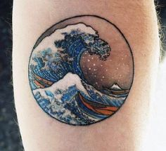 35 Wave Tattoo Design Ideas