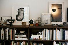 interior design, books, apartment