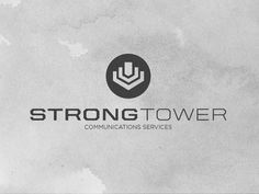 Strong Tower Comm Logo #tower