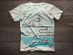 The Engine Room // illustration on Behance #vector #tshirt #icons #shirt #bristol #engine #illustration #studio #studiojq