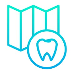 See more icon inspiration related to dental, maps and location, healthcare and medical, premolar, placeholder, dentist, medical, map and location on Flaticon.