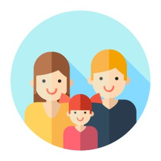 See more icon inspiration related to mother, love, family, father, people, parents and daughter on Flaticon.