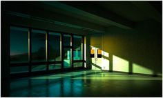 All sizes | NY11 | Flickr - Photo Sharing! #interior #evening #night #colors #industrial #vray #painting #hopper #light