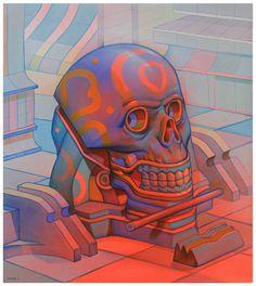 Smithe, art, head