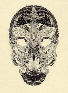 Lancia TrendVisions - Trend Wall #skull #moths