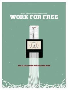 Work for Free #free #illustration #for #time #clock #work