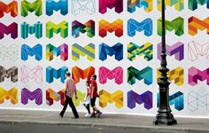 City of Melbourne on the Behance Network #logo #branding #city of melbourne