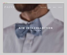 Falvé #website #layout #design #web