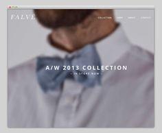Falvé #website #layout #design #web