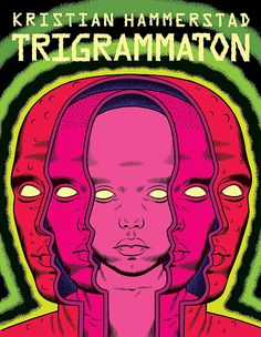 Kristian Hammerstad illustration - Trigrammaton